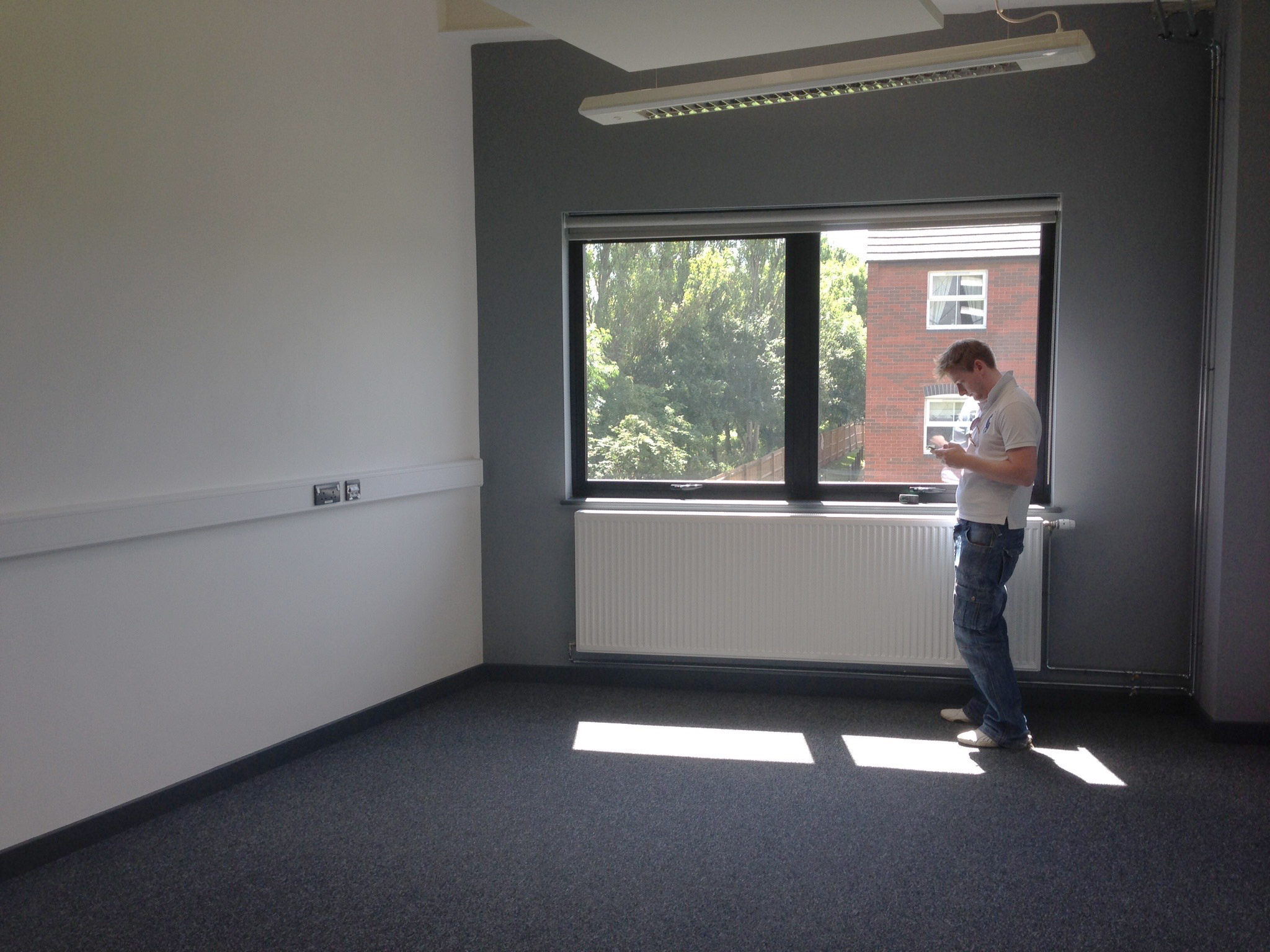 First viewing of our new office