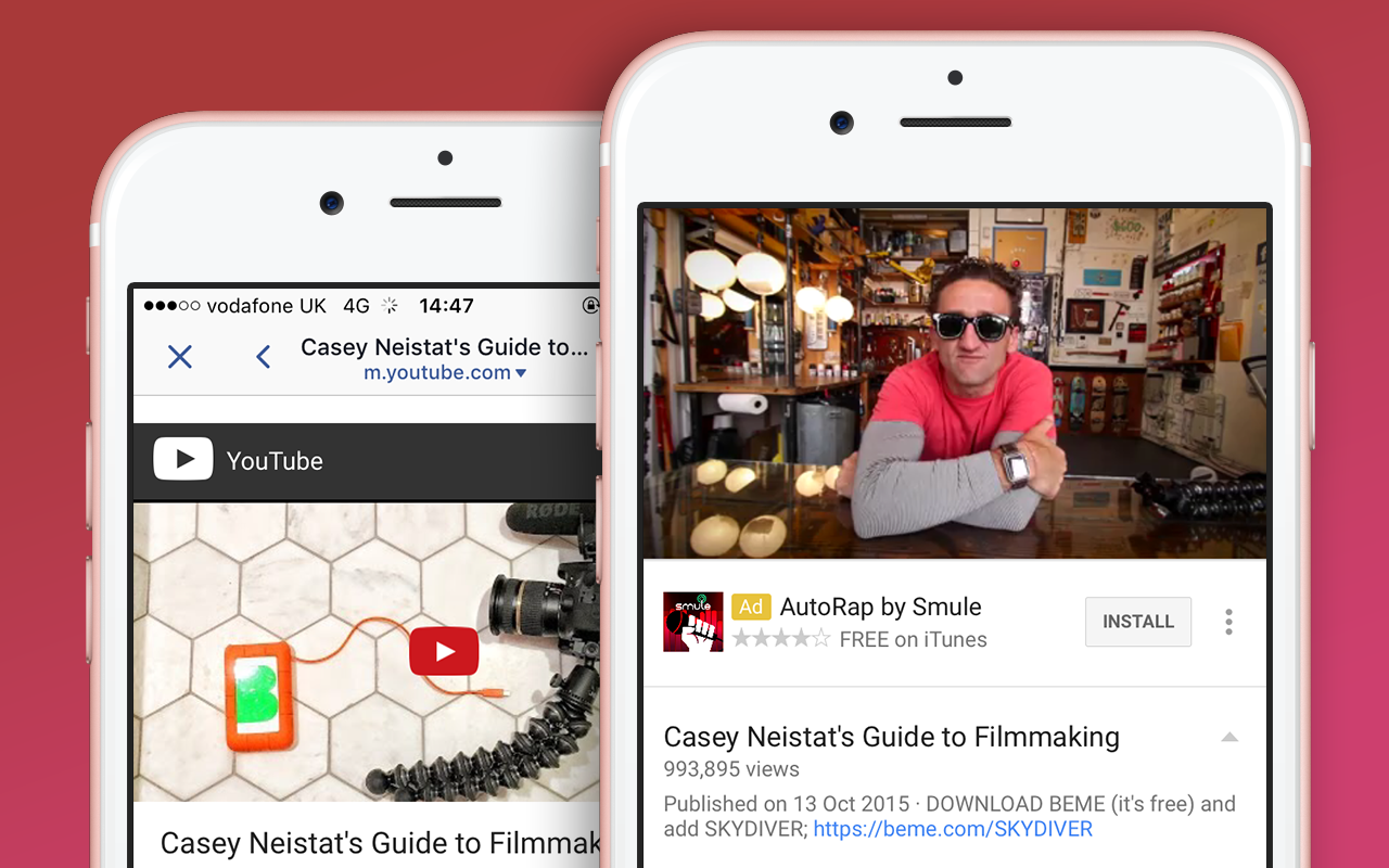 Deeplinking  (how to force out of Facebook's in-app browser and fallback on desktop)