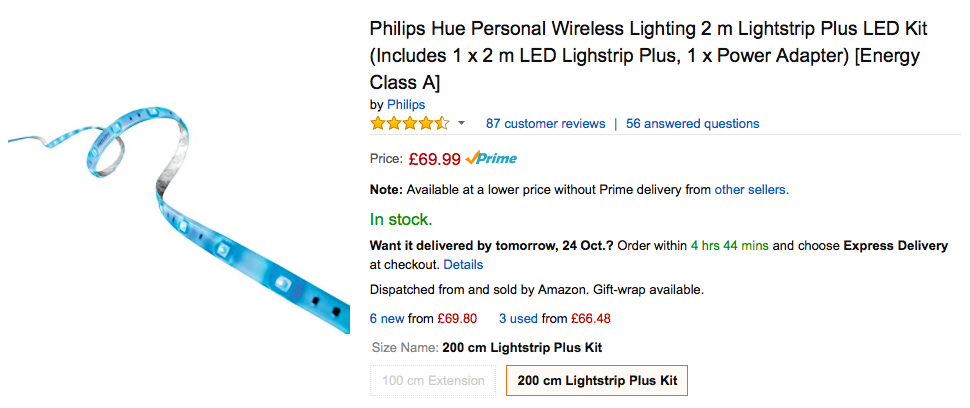 Philips Hue LED Strip