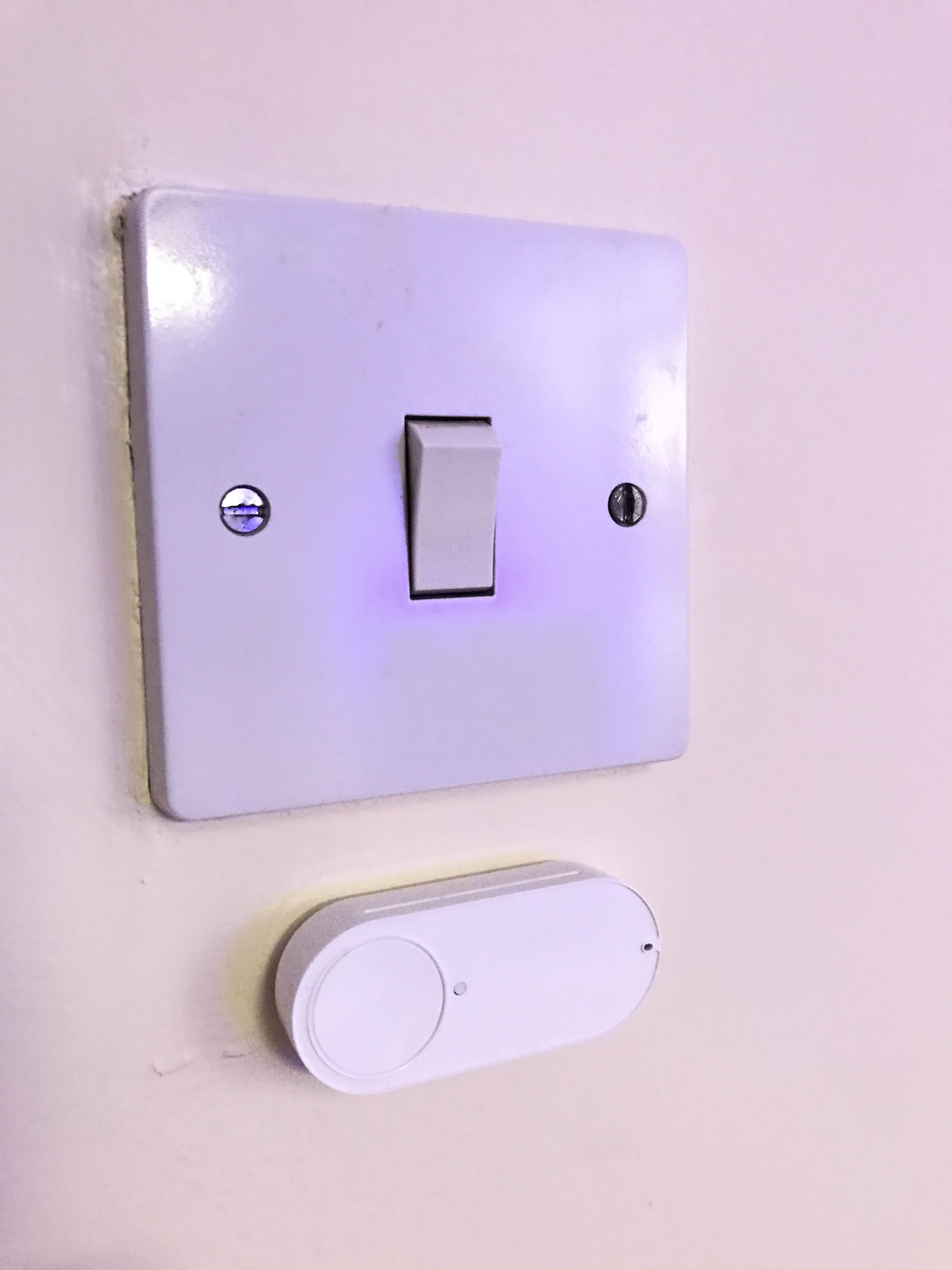 Amazon Dash Light Switch