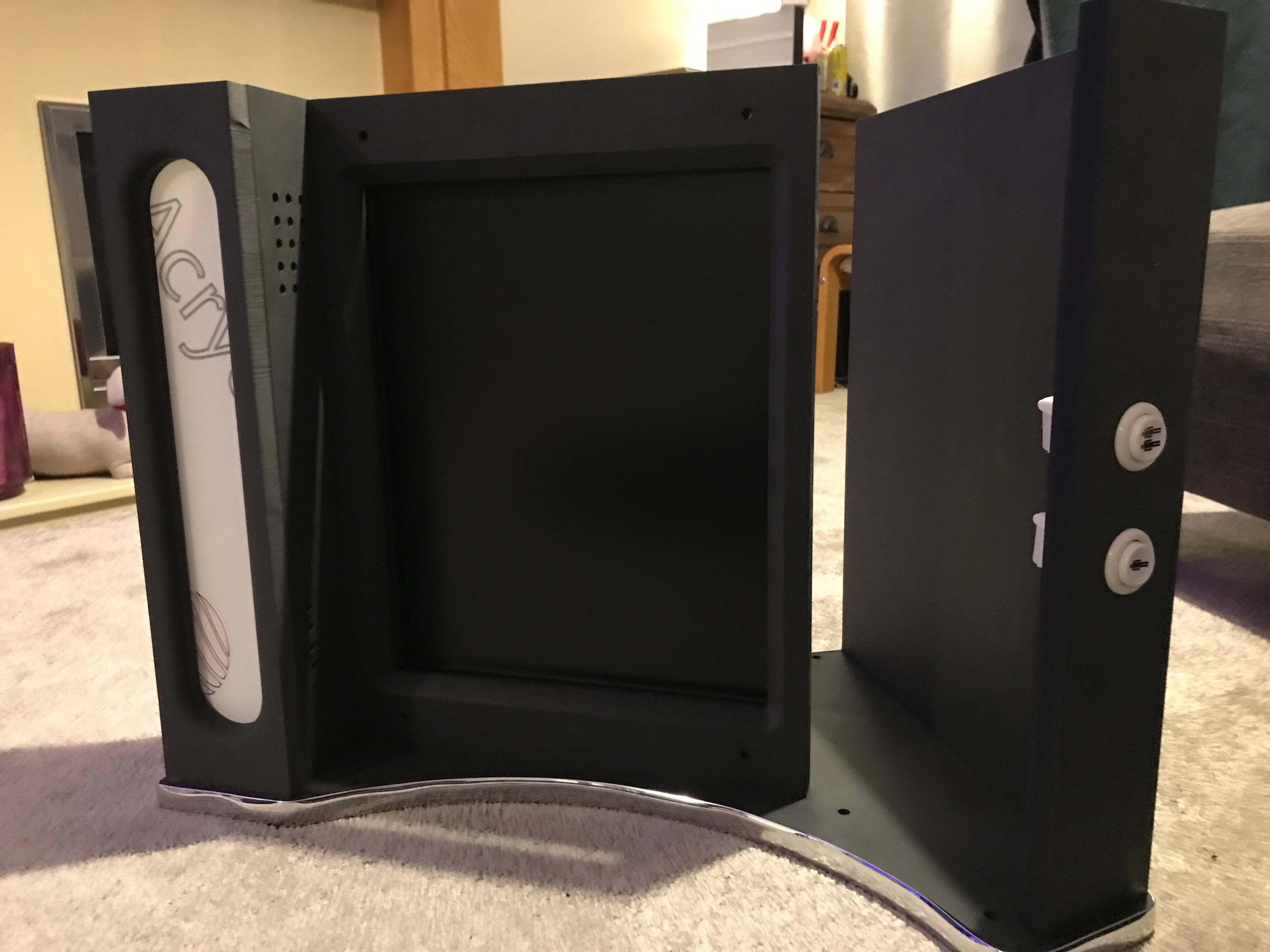 Dell E1708FP in Arcade Cabinet